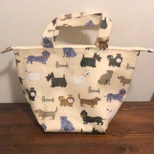 Harrods Women's White Walking Dogs Lunch Bag